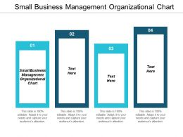 Small Business Management Organizational Chart Powerpoint Presentation Infographic Cpb