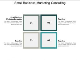 Small Business Marketing Consulting Ppt Powerpoint Presentation Infographic Template Slides Cpb