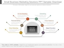 Small Business Marketing Solutions Ppt Samples Download