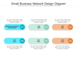 Small Business Network Design Diagram Ppt Powerpoint Presentation Gallery Grid Cpb