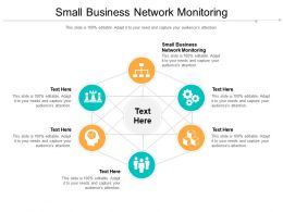 Small Business Network Monitoring Ppt Powerpoint Presentation Layouts Visual Aids Cpb