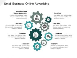 Small Business Online Advertising Ppt Powerpoint Presentation Slides Portrait Cpb