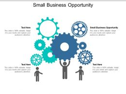 Small Business Opportunity Ppt Powerpoint Presentation Styles Graphic Tips Cpb