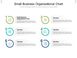 Small Business Organizational Chart Ppt Powerpoint Presentation Gallery Introduction Cpb