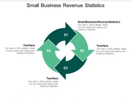 Small Business Revenue Statistics Ppt Powerpoint Presentation Pictures Templates Cpb