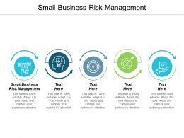 Small Business Risk Management Ppt Powerpoint Presentation Layouts Good Cpb