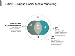 Small Business Social Media Marketing Ppt Powerpoint Presentation Portfolio Tips Cpb