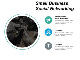 Small Business Social Networking Ppt Powerpoint Presentation Rules Cpb