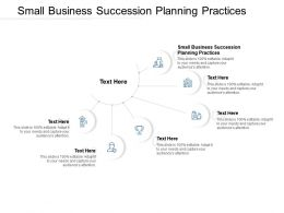 Small Business Succession Planning Practices Ppt Powerpoint Presentation Professional Template Cpb