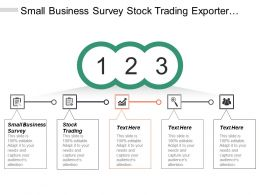 Small Business Survey Stock Trading Exporter Asset Management Cpb