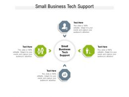 Small Business Tech Support Ppt Powerpoint Presentation Inspiration Layouts Cpb