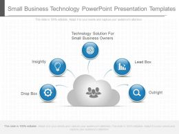 Small Business Technology Powerpoint Presentation Templates
