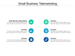 Small Business Telemarketing Ppt Powerpoint Presentation Images Cpb