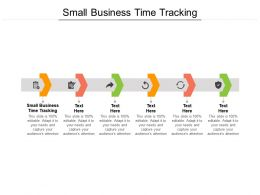 Small Business Time Tracking Ppt Powerpoint Presentation File Files Cpb