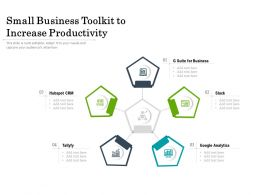 Small Business Toolkit To Increase Productivity