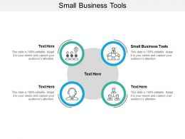 Small Business Tools Ppt Powerpoint Presentation File Maker Cpb