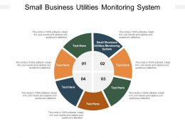 Small Business Utilities Monitoring System Ppt Powerpoint Presentation Model Themes Cpb
