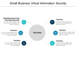 Small Business Virtual Information Security Ppt Powerpoint Presentation Summary Cpb