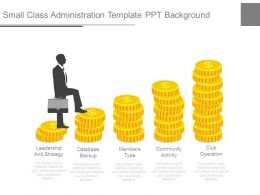 Small Class Administration Template Ppt Background