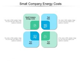 Small Company Energy Costs Ppt Powerpoint Inspiration Picture Cpb