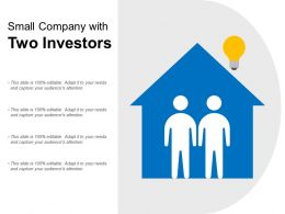 Small Company With Two Investors