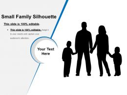Small Family Silhouette Presentation Deck