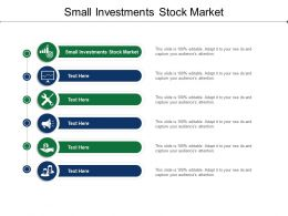 Small Investments Stock Market Ppt Powerpoint Presentation Inspiration Good Cpb