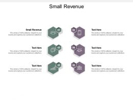 Small Revenue Ppt Powerpoint Presentation Styles Cpb