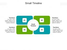Small Timeline Ppt Powerpoint Presentation Icon Deck Cpb