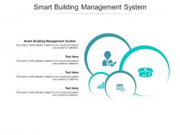 Smart Building Management System Ppt Powerpoint Presentation Styles Show Cpb