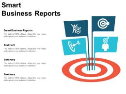 Smart Business Reports Ppt Powerpoint Presentation Infographics Templates Cpb