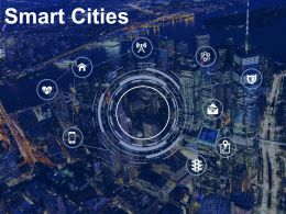 Smart Cities Technology Urban Planning Urbanisation
