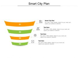 Smart City Plan Ppt Powerpoint Presentation Show Design Inspiration Cpb