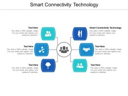 Smart Connectivity Technology Ppt Powerpoint Presentation Gallery Rules Cpb