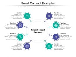 Smart Contract Examples Ppt Powerpoint Presentation Inspiration Influencers Cpb