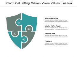Smart Goal Setting Mission Vision Values Financial Risk Cpb
