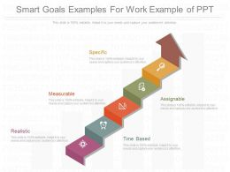 Smart Goals Examples For Work Example Of Ppt