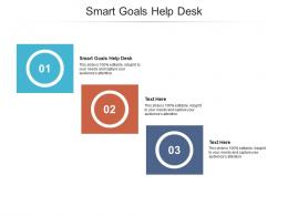 Smart Goals Help Desk Ppt Powerpoint Presentation File Example Cpb
