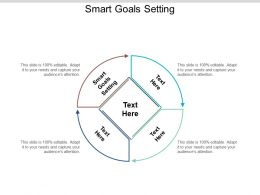 Smart Goals Setting Ppt Powerpoint Presentation Summary Picture Cpb