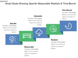Smart Goals Showing Specific Measurable Realistic And Time Bound