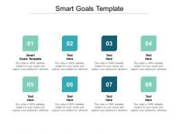 Smart Goals Template Ppt Powerpoint Presentation Gallery Tips Cpb