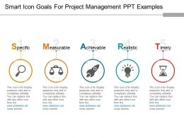 smart_icon_goals_for_project_management_ppt_examples_Slide01