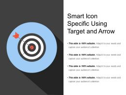 Smart Icon Specific Using Target And Arrow