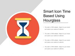 Smart Icon Time Based Using Hourglass