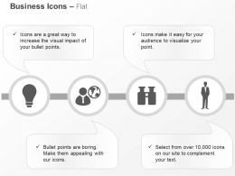 Smart Ideas Global Business Opportunities Leadership Ppt Icons Graphic