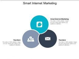 Smart Internet Marketing Ppt Powerpoint Presentation Infographics Background Image Cpb
