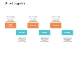 Smart Logistics Ppt Powerpoint Presentation Styles Show Cpb