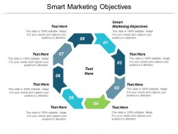 Smart Marketing Objectives Ppt Powerpoint Presentation Slides Backgrounds Cpb