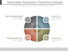 Smart Meter Presentation Powerpoint Example
