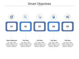 Smart Objectives Ppt Powerpoint Presentation Ideas Example Introduction Cpb